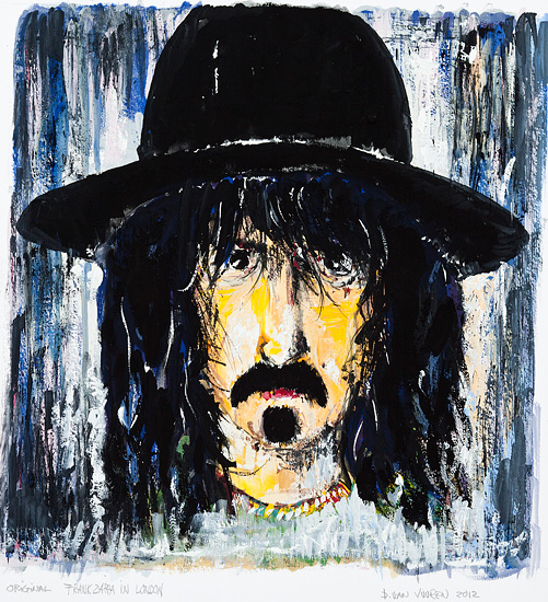 Zappa in London - SOLGT. Original 45x48cm