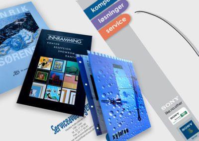 Diverse brosjyrer